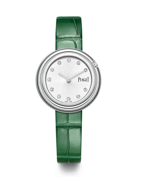 PIAGET Possession Diamond Alligator Watch
