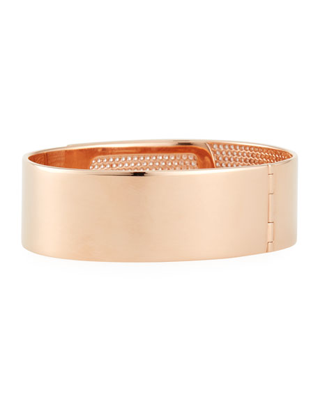 Messika Manchette Move Noa Cuff Bracelet w/ Diamonds, Rose Gold