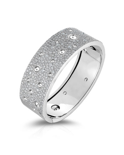 Pois Moi Luna Exclusive 18k White Gold Diamond Bracelet