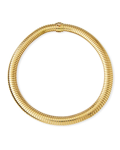18K Gold Simple Medium Necklace