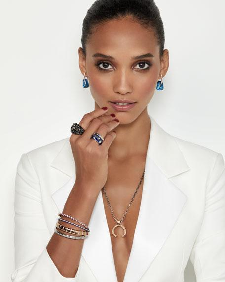 Miseno Marea 18k Rose Gold Diamond & Sapphire Bracelet
