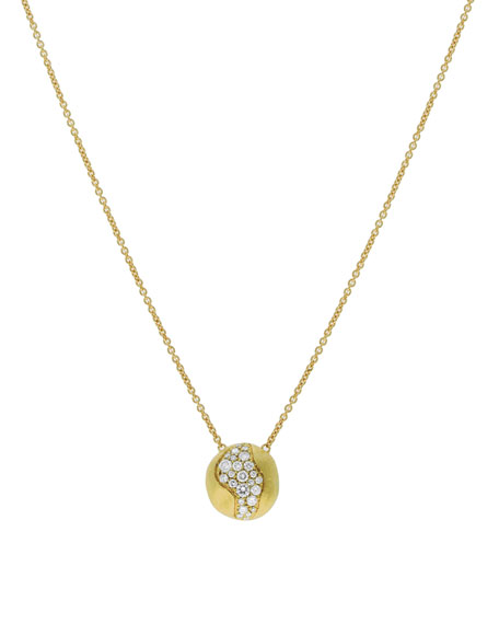 Marco Bicego 18k Gold Africa Diamond Constellation Necklace