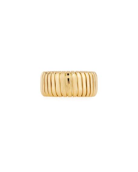 Alberto Milani 18k Gold Band Ring, 10mm