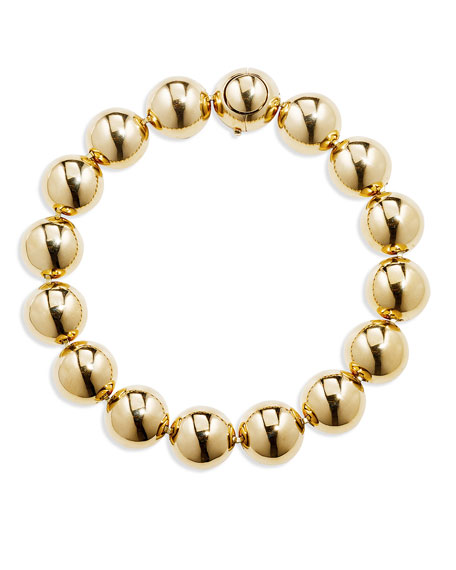CADAR 18k Gold Bead Bracelet