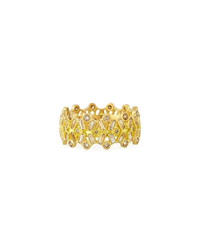 Sueno 18k Gold, Diamond & Sapphire Ring