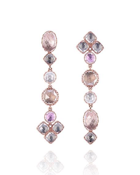 Larkspur & Hawk Sadie Shoulder Duster Earrings, Cosmos