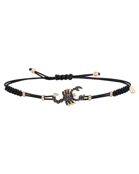 Pippo Perez 18k Rose Gold 2-Tone Diamond Scorpion Bracelet