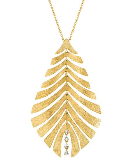 Hueb Bahia 18k Pendant Necklace w/ Diamonds
