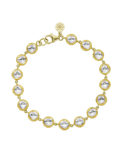 Kundan Vintage Diamond Bezel Bracelet