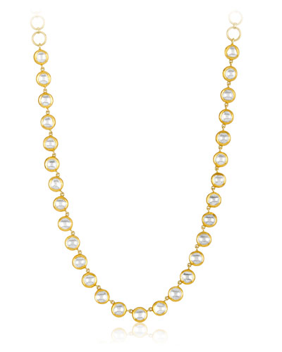 Kundan Vintage Diamond Bezel Necklace