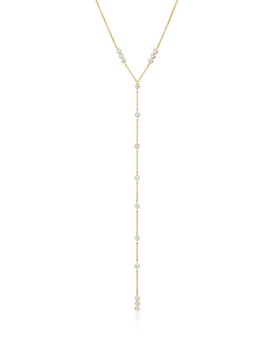 Tarakini Diamond Y-Drop Necklace