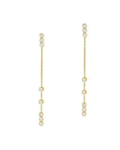 Tarakini Convertible Diamond Dangle Earrings