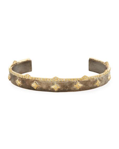 Armenta Old World Diamond Crivelli Cuff Bracelet