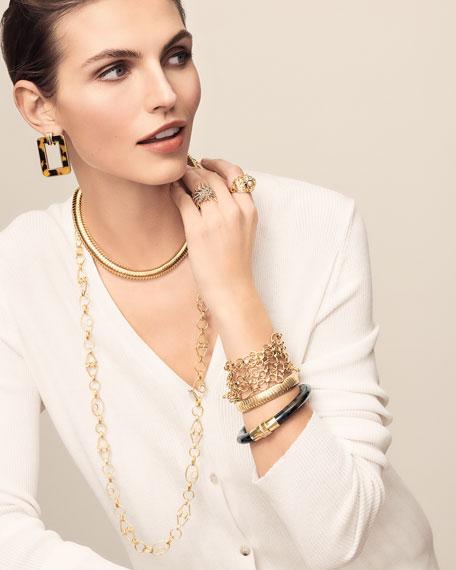Valentin Magro 18k Gold Geometric Chain Necklace