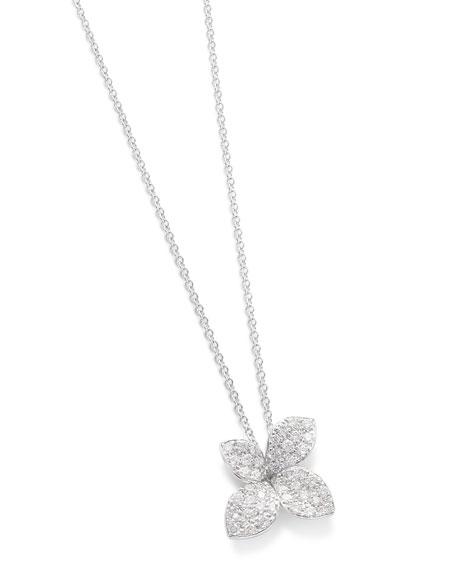 Pasquale Bruni Giardini Segreti 18k White Gold Diamond Pendant Necklace