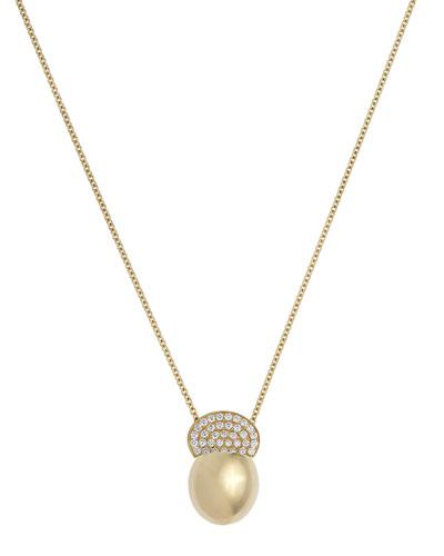 Ladybird 18k Diamond Pendant Necklace  0.46tcw