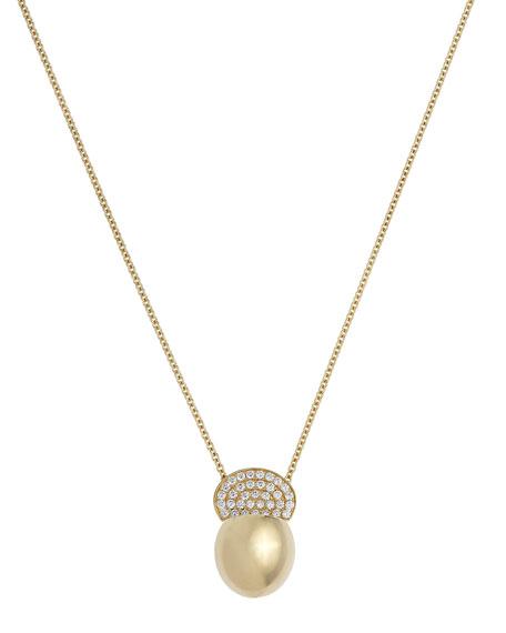 ISTANBOULLI GIOIELLI Ladybird 18k Diamond Pendant Necklace, 0.46tcw