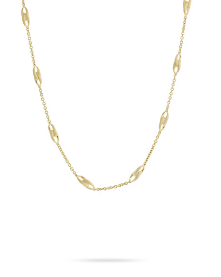 Marco Bicego Lucia 18k Gold Link-Station Necklace