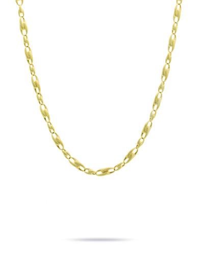 Legàmi 18k Gold Interlock Chain Necklace  17L
