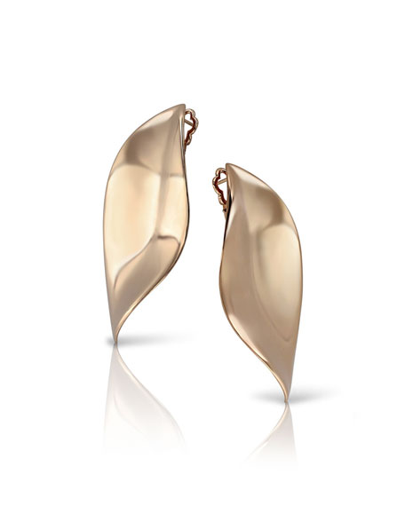 Pasquale Bruni 18k Rose Gold Lakshmi Stud Earrings