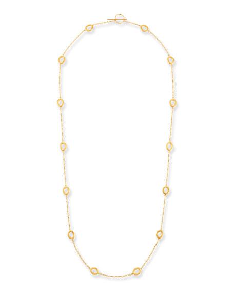 Yossi Harari 24k Gold Melissa Openwork Elements Necklace