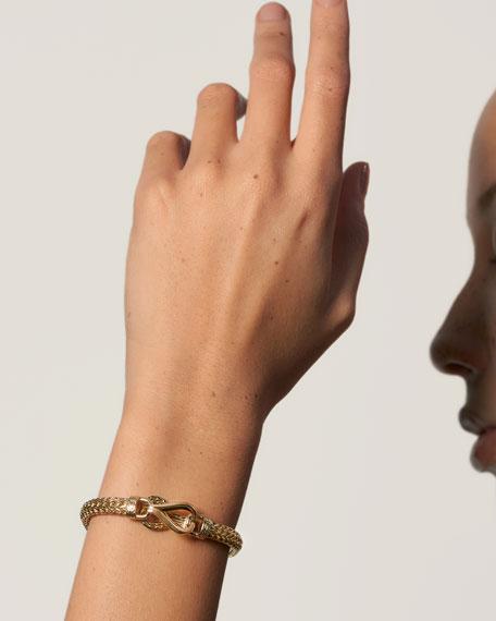 John Hardy Asli Classic Chain 18k Link Bracelet, Size S