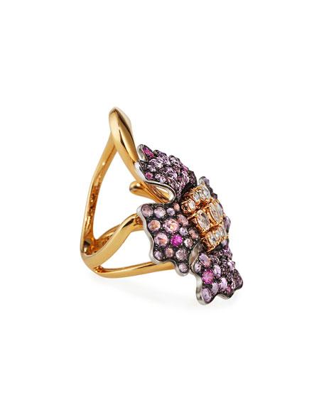 Etho Maria 18k Sapphire & Diamond Ring