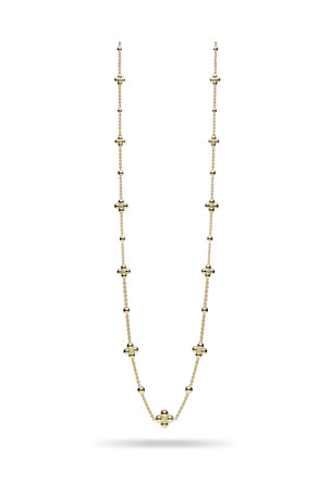 Paul Morelli Long Sequence 18k Bead-Station Necklace