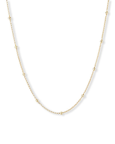 Cable Collectibles 18k Dome Necklace  36L