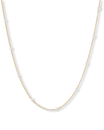 Cable Collectibles Pearl Necklace  36L