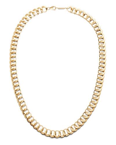 14k Bond-Link Choker Necklace