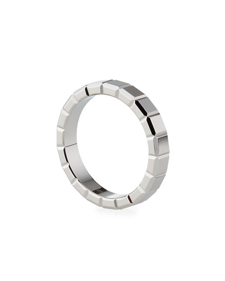 Chopard 18k White Gold Ice Cube Ring