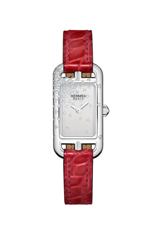 Hermès Nantucket Watch, 17 x 23 MM $5850.00