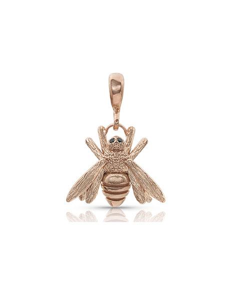 Dominique Cohen 18k Rose Gold Diamond Bee Enhancer
