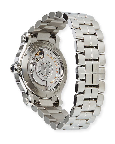 Image 3 of 4: Chopard Happy Sport Automatic Stainless Steel Bracelet Watch