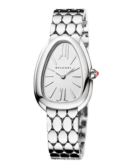 Image 1 of 3: Serpenti Seduttori Stainless Steel 33mm Watch w/ Bracelet