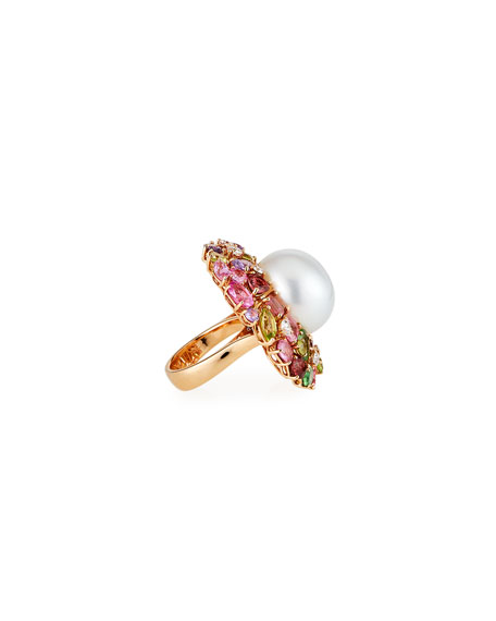 Margot McKinney Jewelry 18k Pearl Cocktail Ring