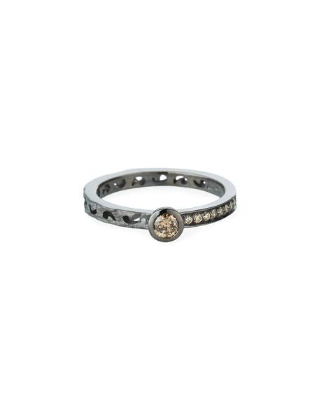 Marco Dal Maso 18k Diamond Band and Center Ring