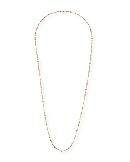 "Image 1 of 2: Etho Maria 18k Brown Diamond Station Necklace, 36""L"