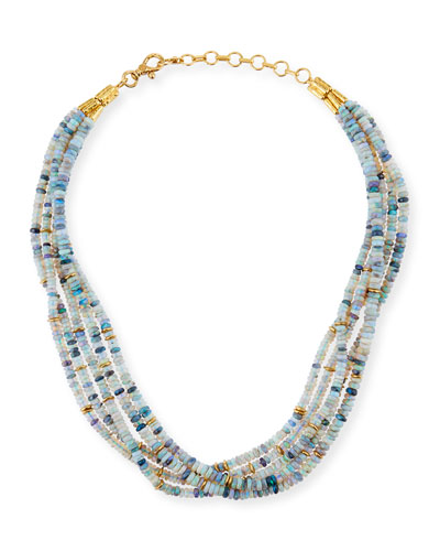 One-of-a-Kind Opal 5-Strand Necklace