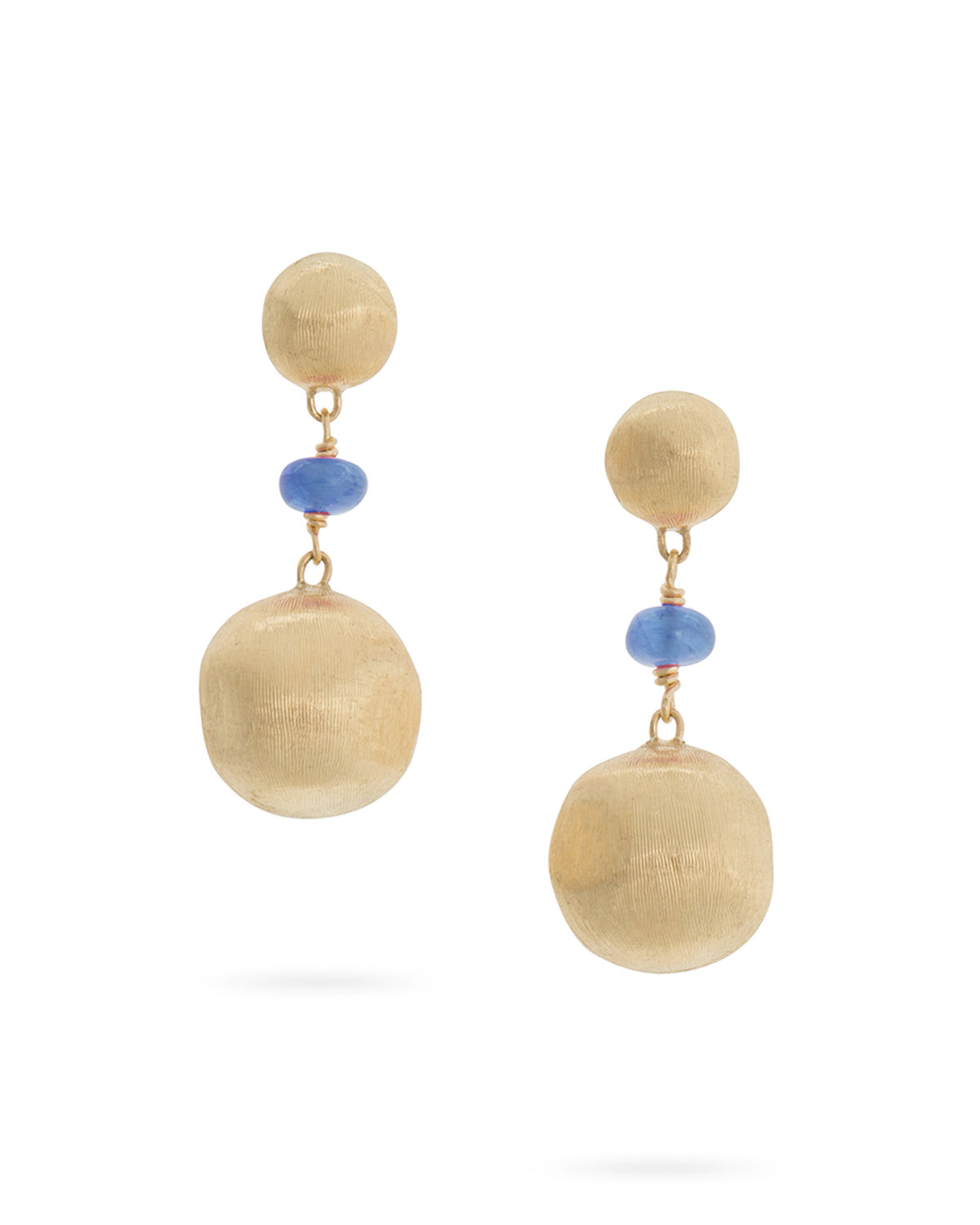 Marco Bicego Africa 18k Gold Ear W/Sapphire