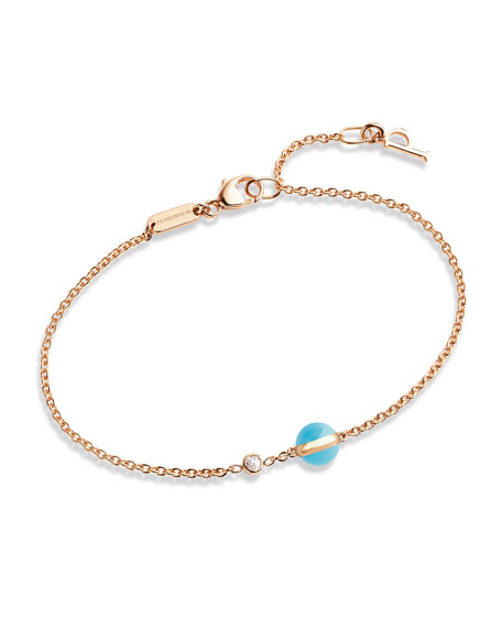 Possession Turquoise & Diamond Station Bracelet