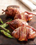 Bacon-Wrapped Stuffed Quail, For 8 People