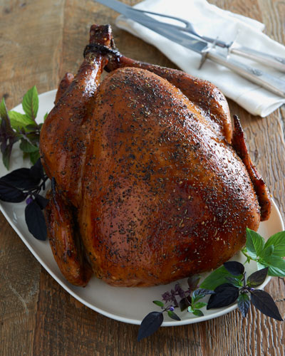 Chardonnay Herb Turkey  For 10 People