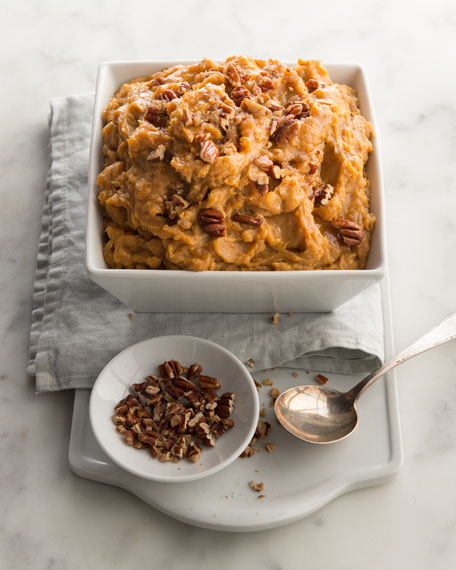 Sweet Potatoes with Pecan Topping