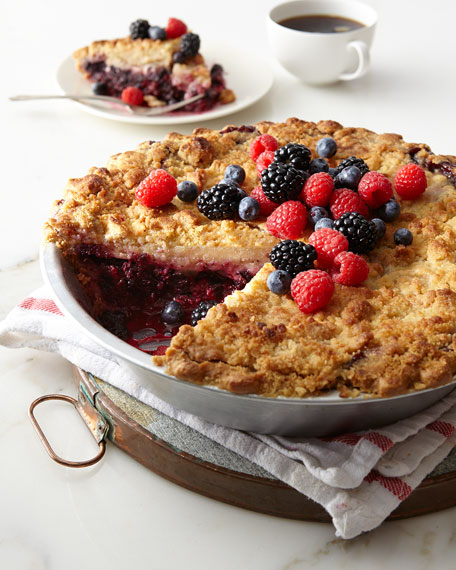 Sweet Lady Jane Deep-Dish Mixed Berry Pie