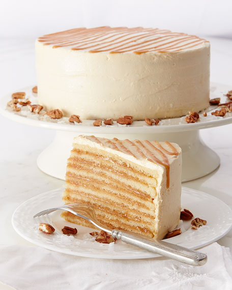 Smith Island Baking Co Caramel & Cream Cake