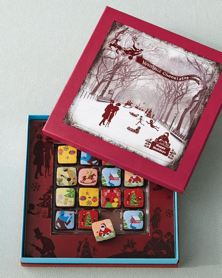 MarieBelle Winter Wonderland Chocolates