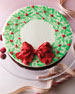 WREATH SINGLE LAYER CAKE
