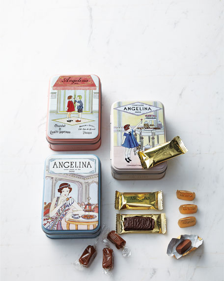 Gianduja Chocolates in Tin